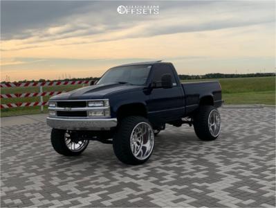 "1989 Chevrolet K1500 - 26x16 -101mm - Intro Dynamic - Suspension Lift 6"" - 37"" x 14.5"""