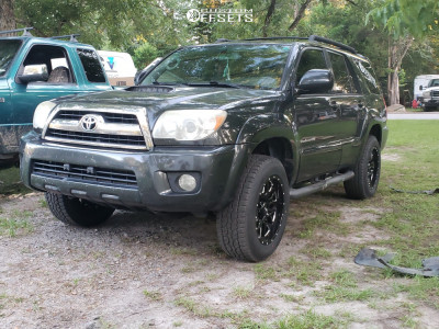 2006 Toyota 4Runner - 18x9 -12mm - Ultra Hunter - Leveling Kit - 265/60R18