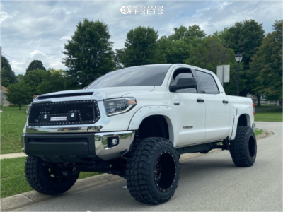"2019 Toyota Tundra - 20x14 -76mm - Fuel Maverick - Suspension Lift 6"" & Body 3"" - 37"" x 13.5"""