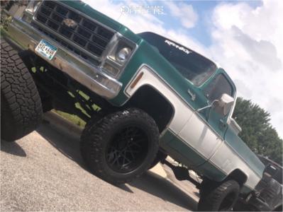 "1979 Chevrolet K10 - 20x12 -51mm - Toxic Punisher - Suspension Lift 4"" - 35"" x 12.5"""