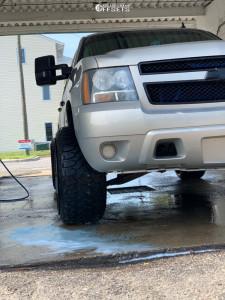 "2007 Chevrolet Tahoe - 24x14 -77mm - TIS 544mb - Leveling Kit - 33"" x 12.5"""