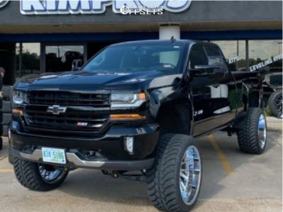 "2018 Chevrolet Silverado 1500 - 24x14 -72mm - Tuff T2a - Suspension Lift 9"" - 35"" x 13.5"""