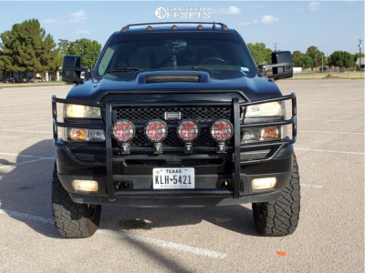 "2006 Chevrolet Avalanche 1500 - 20x9 0mm - XD Rockstar Ii - Suspension Lift 6"" - 35"" x 12.5"""