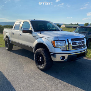 """2011 Ford F-150 - 18x9 -12mm - Fuel 531 - Leveling Kit - 33"""" x 12.5"""""""