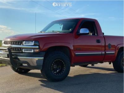 1999 Chevrolet Silverado 1500 - 16x10 -38mm - Pro Comp Series 252 - Stock Suspension - 265/70R16