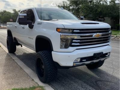 "2020 Chevrolet Silverado 2500 HD - 22x12 -44mm - Hostile Rage - Suspension Lift 5"" - 35"" x 12.5"""