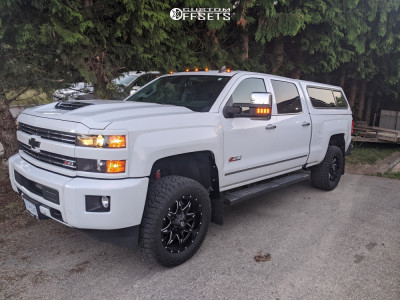 2019 Chevrolet Silverado 3500 HD - 20x9 20mm - Fuel Lethal - Leveling Kit - 305/55R20