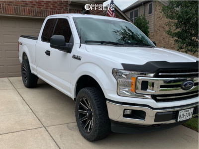 2019 Ford F-150 - 20x9 2mm - Fuel Contra - Leveling Kit - 275/60R20