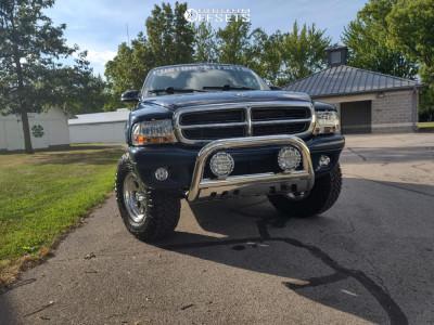"2001 Dodge Durango - 16x8 -5mm - Alloy Ion 171 - Suspension Lift 3"" - 285/75R16"