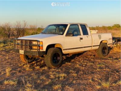 "1997 Chevrolet K1500 - 16x10 -25mm - American Racing Ar172 - Suspension Lift 3"" - 33"" x 9.5"""