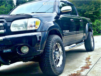 2006 Toyota Tundra - 17x9 -12mm - Ion Alloy 179 - Leveling Kit - 305/50R17