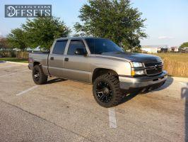 "2006 Chevrolet Silverado 1500 - 20x10 12mm - XD Monster - Leveling Kit - 33"" x 12.5"""