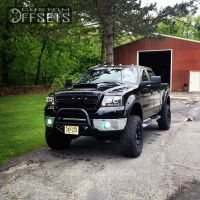 """2007 Ford F-150 - 18x9.5 -12mm - XD Monster - Suspension Lift 9"""" - 35"""" x 12.5"""""""