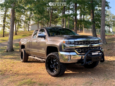 "2016 Chevrolet 1500 - 20x10 -24mm - Ultra Trooper - Suspension Lift 3.5"" - 33"" x 12.5"""