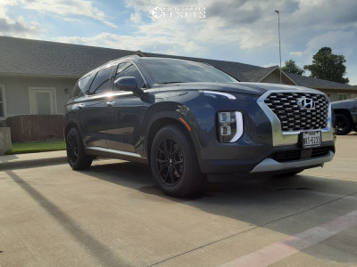 2020 Hyundai Palisade - 18x8 12mm - Drag Dr67 - Stock Suspension - 245/60R18