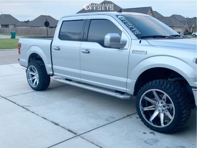 """2019 Ford F-150 - 22x12 -44mm - Axe Offroad Artemis - Leveling Kit - 33"""" x 12.5"""""""