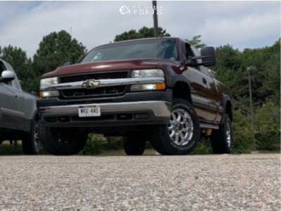 2002 Chevrolet Silverado 2500 HD - 18x10 -24mm - XD Badlands - Leveling Kit - 285/65R18