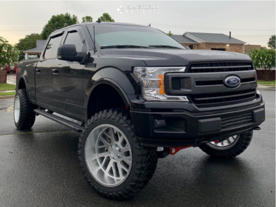 """2019 Ford F-150 - 22x12 -44mm - Axe Offroad Ax2.1 - Suspension Lift 6"""" - 35"""" x 12.5"""""""