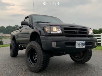 "1999 Toyota Tacoma - 15x10 -38mm - Pro Comp Series 51 - Suspension Lift 2.5"" - 31"" x 10.5"""