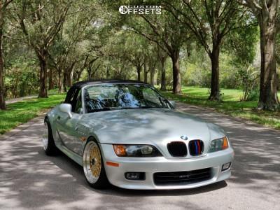 1998 BMW Z3 - 17x8.5 15mm - Jnc Jnc004 - Coilovers - 215/40R17