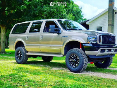 """2003 Ford Excursion - 18x9 -12mm - Ultra Hunter - Suspension Lift 6"""" - 285/75R18"""