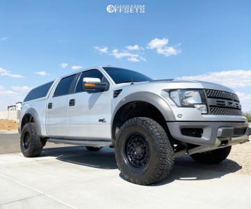 "2012 Ford Raptor - 17x9.5 0mm - Black Rhino Arsenal - Stock Suspension - 35"" x 12.5"""