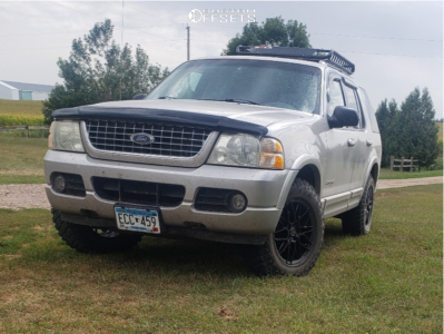 2004 Ford Explorer - 17x8 40mm - Platinum Retribution - Stock Suspension - 245/70R17