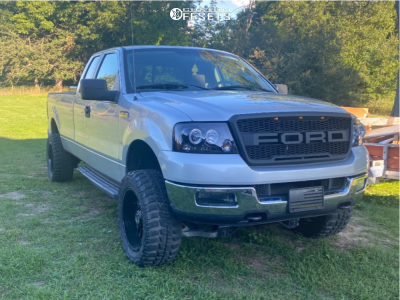 """2005 Ford F-150 - 20x10 -18mm - Anthem Off-Road Avenger - Suspension Lift 4"""" - 33"""" x 12.5"""""""