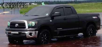 "2010 Toyota Tundra - 20x9 12mm - Ballistic Scythe - Leveling Kit - 35"" x 12.5"""