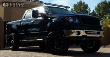 """2007 Ford F-150 - 20x9 -12mm - Fuel Hostage - Suspension Lift 6"""" - 35"""" x 12.5"""""""