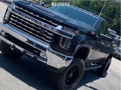 "2020 Chevrolet Silverado 2500 HD - 20x10 -24mm - Ultra Hunter - Suspension Lift 6"" - 35"" x 12.5"""