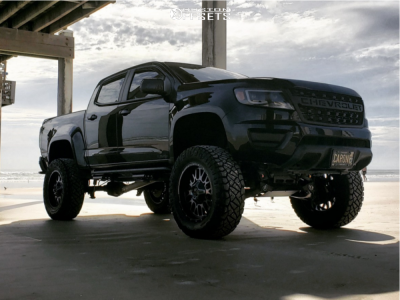 "2019 Chevrolet Colorado - 20x10 -18mm - XD Snare - Suspension Lift 8"" - 35"" x 12.5"""