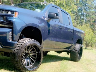 "2020 Chevrolet Silverado 1500 - 24x14 -72mm - Tuff T2a - Suspension Lift 6"" - 35"" x 12.5"""
