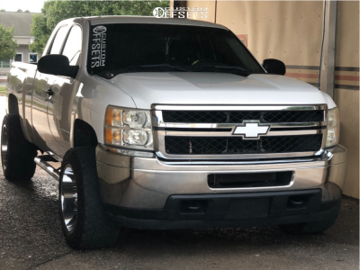 "2011 Chevrolet Silverado 2500 HD - 20x12 -44mm - Dropstars 655c - Stock Suspension - 33"" x 12.5"""