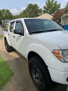2009 Nissan Frontier - 17x8 0mm - Level 8 Mk6 - Leveling Kit - 275/70R17
