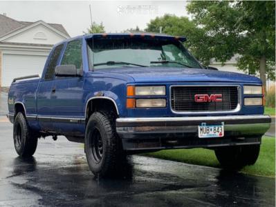 "1997 GMC K1500 - 15x8 0mm - Pro Comp 51 - Stock Suspension - 31"" x 10.5"""