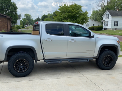 2016 Chevrolet Colorado - 17x9 -12mm - Dirty Life Dt-2 - Leveling Kit - 265/70R17
