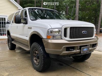 "2003 Ford Excursion - 18x9 6mm - Icon Rebound - Suspension Lift 4"" - 35"" x 12.5"""