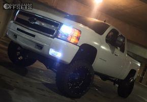 "2013 Chevrolet Silverado 1500 - 22x14 -76mm - Moto Metal MO962 - Suspension Lift 10"" - 35"" x 12.5"""