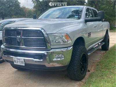"2010 Dodge Ram 3500 - 20x10 -19mm - Method Nv - Suspension Lift 3"" - 35"" x 11.5"""