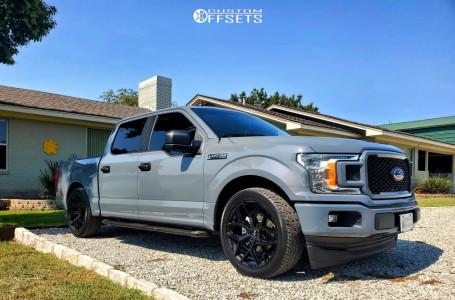 2020 Ford F-150 - 22x9.5 35mm - Niche Vice - Lowered 2F / 4R - 285/45R22