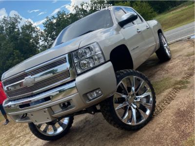"2009 Chevrolet Silverado 1500 - 26x9.5 0mm - OE Replicas Rst - Suspension Lift 8"" - 35"" x 12.5"""
