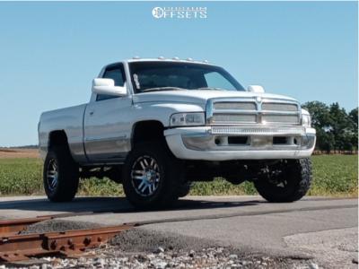 "2000 Dodge Ram 1500 - 17x9.5 -10mm - Eagle Alloy Series 027 - Leveling Kit - 33"" x 12.5"""