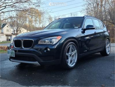 2014 BMW X1 - 19x8.5 35mm - Advanti Racing Cammino - Lowering Springs - 265/35R19