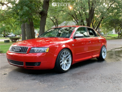2004 Audi S4 - 18x9.5 35mm - Aodhan Ah-x - Coilovers - 255/35R18
