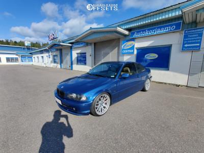 2001 BMW 3 Series - 18x8.5 35mm - Avant Garde M359 - Coilovers - 215/40R18