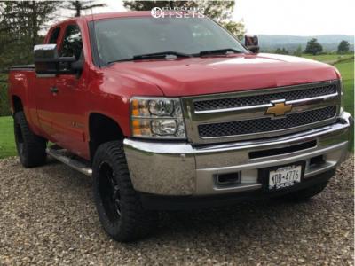 "2012 Chevrolet Silverado 1500 - 20x9 0mm - Ultra Hunter - Suspension Lift 3.5"" - 33"" x 12.5"""