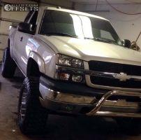 "2004 Chevrolet Silverado 1500 - 18x9 10mm - Gear Off-Road Recoil - Suspension Lift 7"" - 35"" x 12.5"""