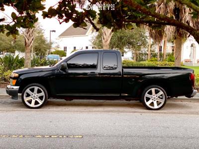 2008 Chevrolet Colorado - 20x8.5 15mm - Black Rhino Haka - Stock Suspension - 255/35R20