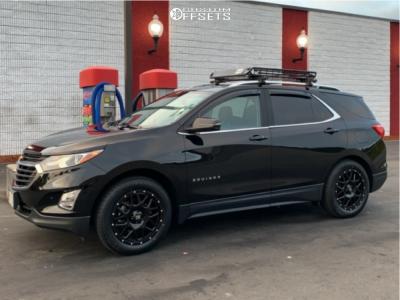 2018 Chevrolet Equinox - 18x9 30mm - XD Grenade - Stock Suspension - 265/60R18